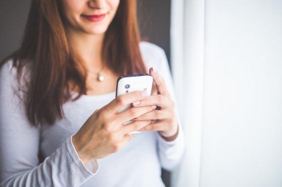 Mulher Smartphone